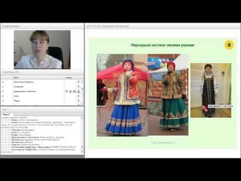 Как сплести пояс для русского народного костюма