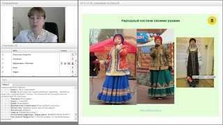 видео сшить платье своими руками в русском стиле