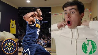 JAMAL MURRAY GOES FOR 50! KYRIE GOES OFF! CELTICS VS NUGGETS REACTION