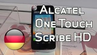 Alcatel One Touch Scribe HD im Kurztest auf der CES