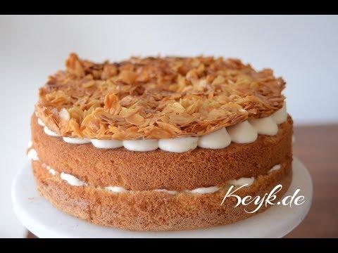 Bienenstich unconventional recipe - A traditional German cake, revised