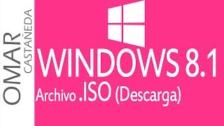 COMO DESCARGAR ARCHIVO ISO WINDOWS 8.1