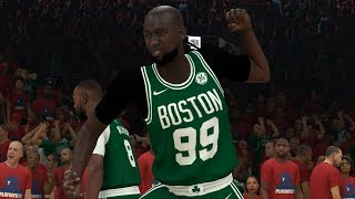 NBA 2K20 Tacko Fall My Career - 20-20-20 Quadruple Double!