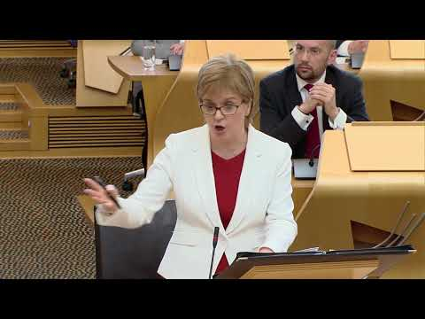 First Minister's Questions - 24 May 2018