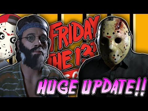 FRIDAY THE 13TH!!🔪 | HUGE UPDATE!! NEW MAP, NEW JASON & MORE!! | 1080P | Interactive Streamer