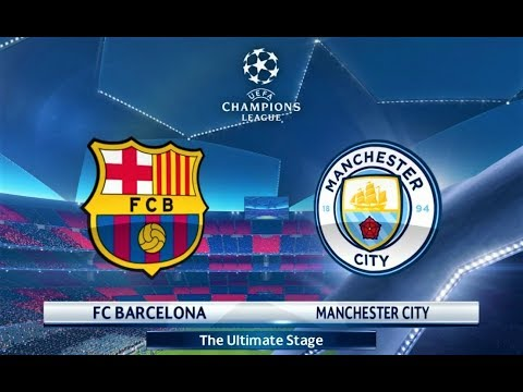 Barcelona vs Manchester City | UEFA Champions League Final | PES 2018 Gameplay HD