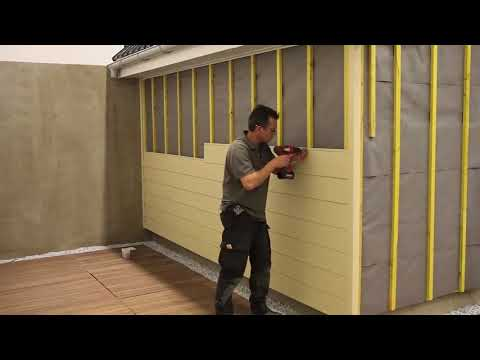 Fortex Cladding Installation Demo