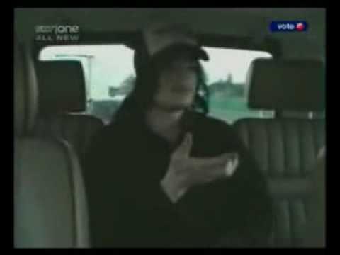 Michael Jackson dancing in car