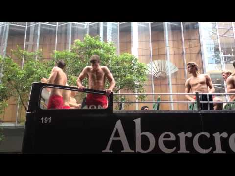 Abercrombie and Fitch Hong Kong models