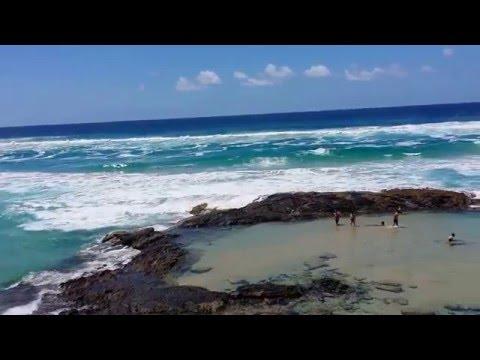 Fraser Island Champagne Pools :)