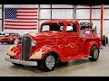 1936 Chevy Pickup Street Rod Red