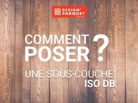 pose d 39 une sous couche design parquet iso db youtube. Black Bedroom Furniture Sets. Home Design Ideas