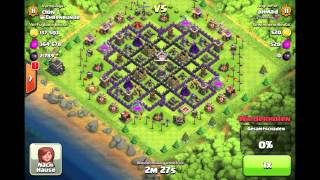 Lets Play Clash of Clans #005 Kampf an Kampf + Pekka Level 4 Gameplay