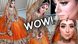 Price & My 2nd Kashee's Dress Review with Bridal Makeup, You Can Buy NOW😊