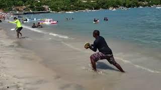 frescobol daniel e tone praia de suape