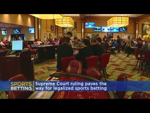 Supreme Court's Ruling Favors Sports Betting