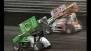 World of Outlaws Sprint Cars Knoxville Nationals 2002.