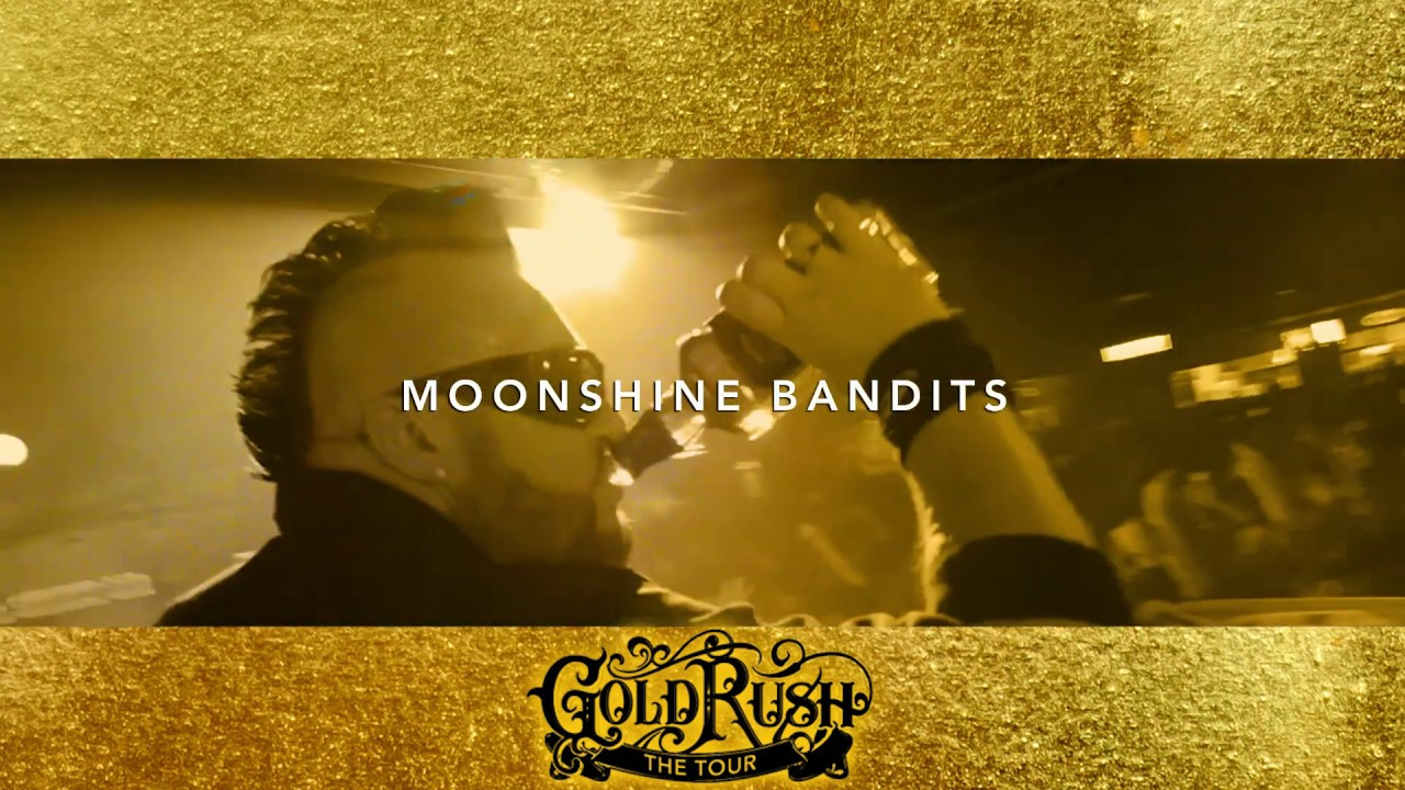 Moonshine Bandits Gold Rush Tour 2019 feat  Crucifix, Overtime