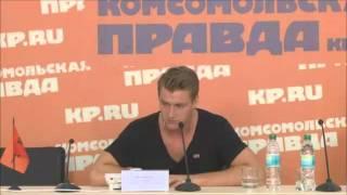 А.Воробьев о своей роли в фильме - В лесах и на горах