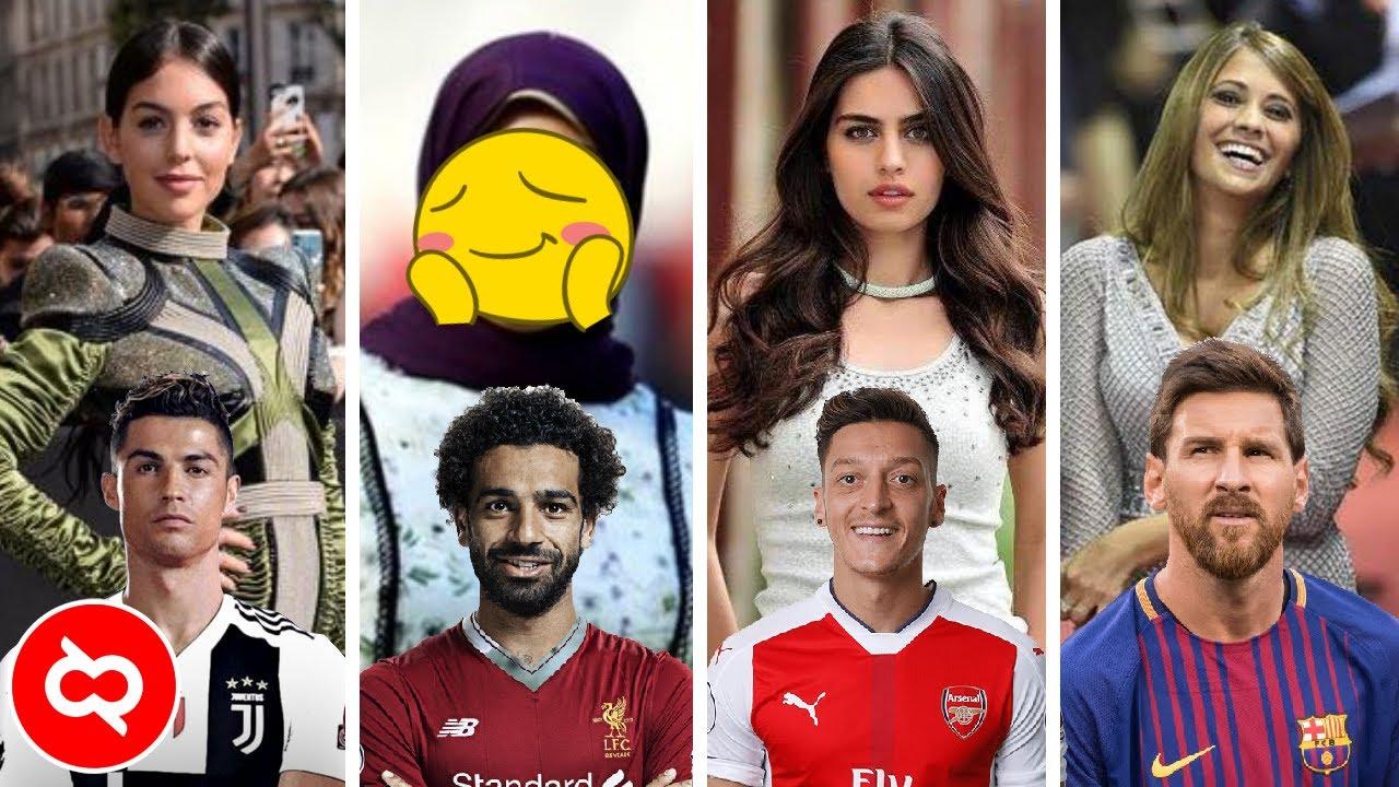 Begini Cantiknya Pasangan Pemain Sepak Bola Top Dunia Yang Bikin Gagal Fokus