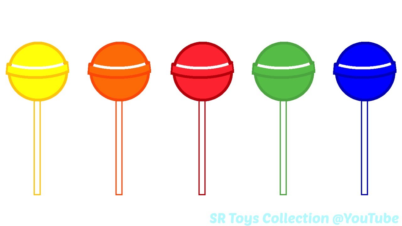 Fun Learning Colours with Lollipop