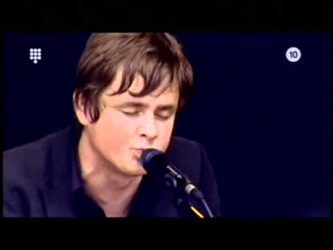 Tom Chaplin (Keane) - Somewhere Only We Know (live Concert at Sea 2007)