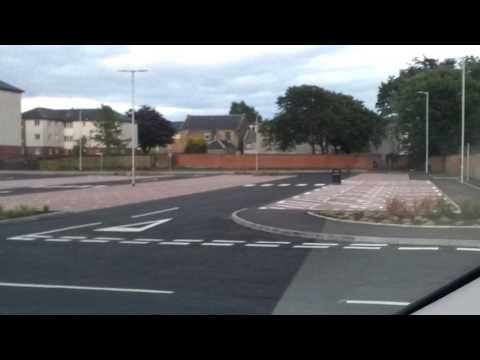 New car park irvine ayrshire