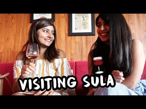 VISITING SULA VINEYARDS | Weekend In Nashik | Kritika Goel