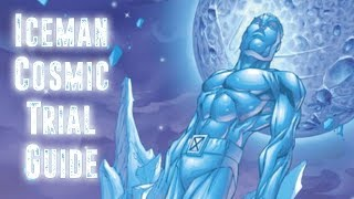 Iceman Cosmic Trial completion with Super Heroic gear and no Legend...