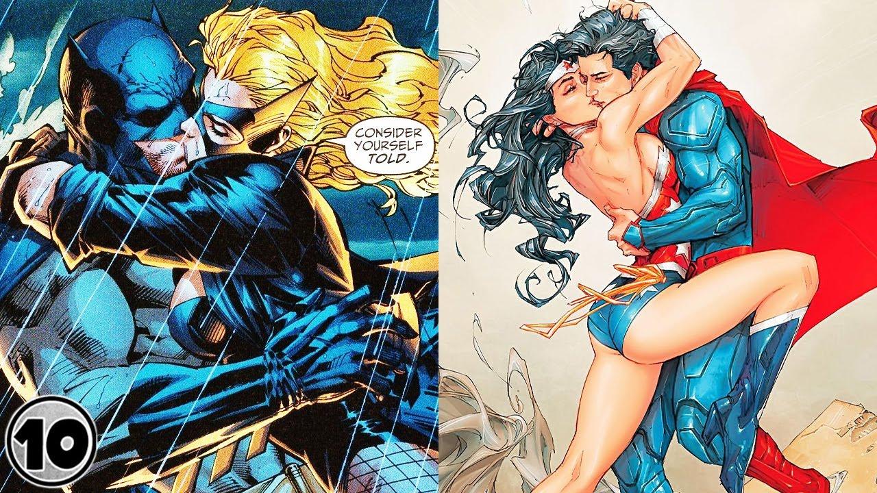 Top 10 Weirdest DC Comics Hookups