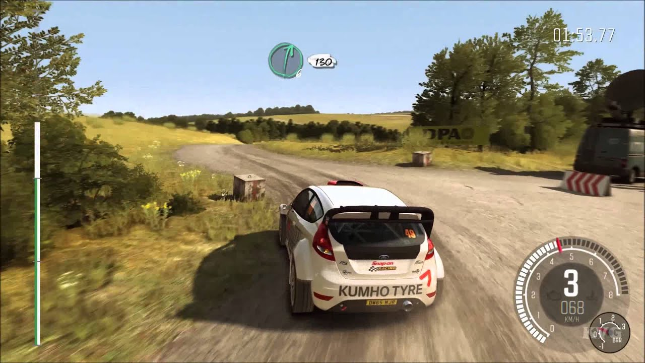 dirt rally germany kreuzungsring reverse gameplay pc. Black Bedroom Furniture Sets. Home Design Ideas