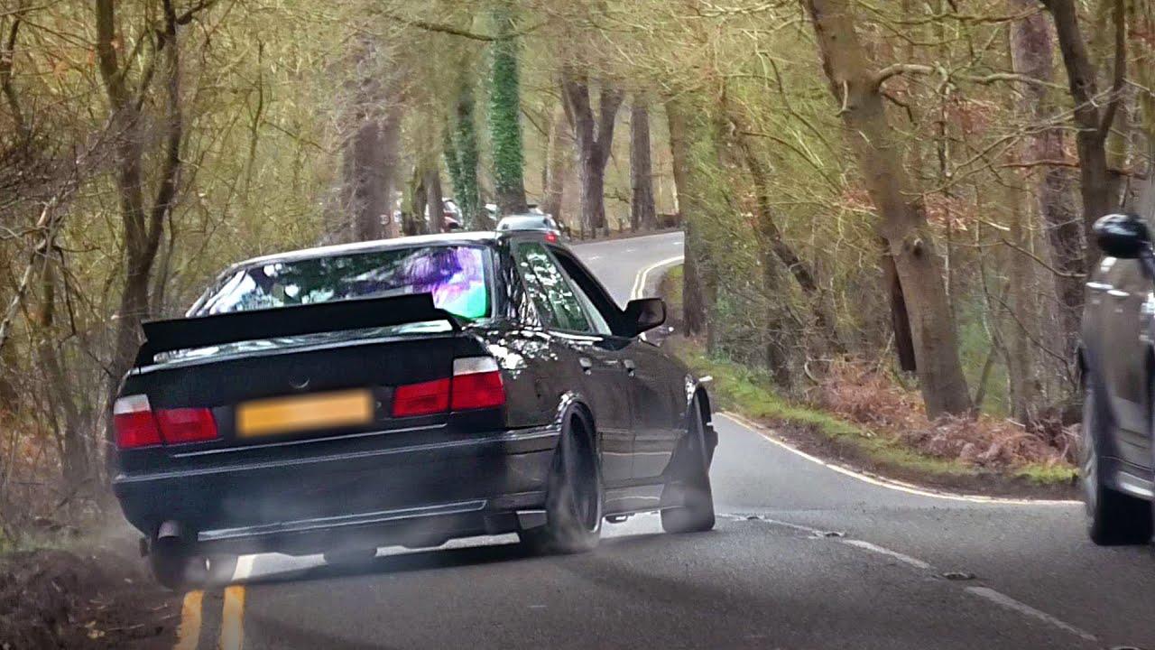 Carros alemães x japoneses que saem de um show de carro - fevereiro 2020 + vídeo