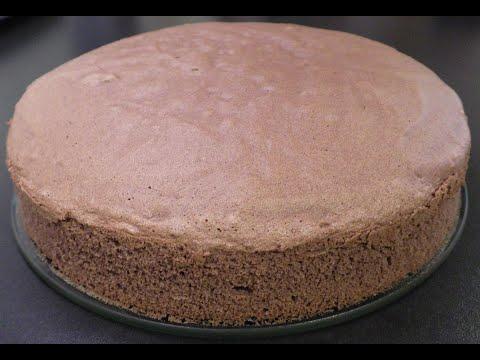 Rețetă de blat de tort cu cacao - CristineCuisine