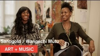 Wangechi Mutu + Santigold interview -- Nasher Museum of Art at Duke University -- MOCAtv
