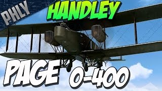 WW1 BOMBER FORMATION - Handley Page 0/400 (Rise Of Flight Gameplay)