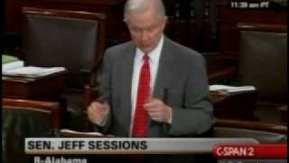 Sen. Jeff Sessions (R-AL) Part 1 on hate crime bill Free HD Video