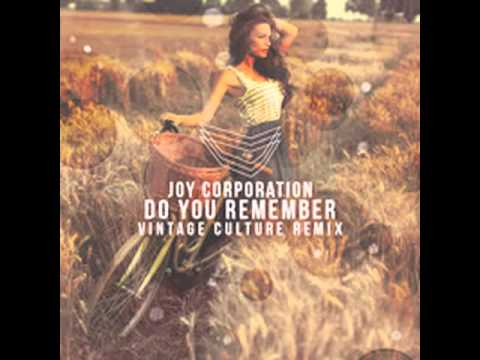 Joy Corporation - Do You Remember (Vintage Culture Rmx)