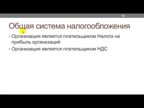 Лекция 10: Как устроена система налогообложения в РФ?