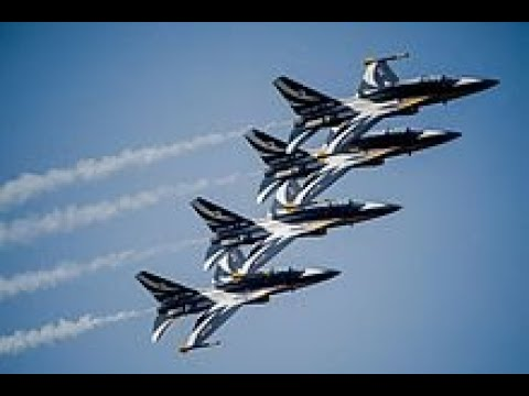 "The Republic Of Korea Air Force Aerobatic Team, Black Eagles :  ""Open The Sky Road, 5,400km """