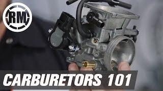 Motorcycle and ATV Carburetors 101
