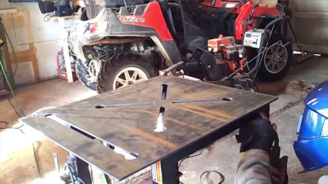 Cnc Plasma Table Dynatorch Super B 4 X 4 Welding Table