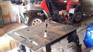 Cnc Plasma Table - Dynatorch Super B 4 X 4 Welding Table Project