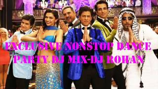 Bollywood Non Stop Dance Party Mix Vol 1 By Dj Rohan Exclusive