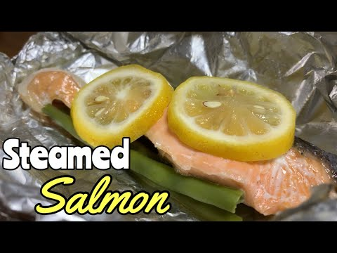 Steamed Salmon In Pan L Recipe
