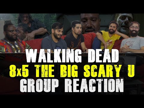 Walking Dead - 8x5 The Big Scary U - Group Reaction