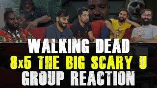 Video Walking Dead - 8x5 The Big Scary U - Group Reaction download MP3, 3GP, MP4, WEBM, AVI, FLV November 2017