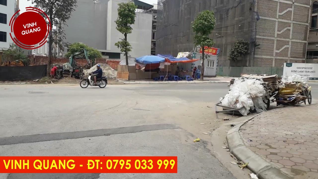 image BÁN ĐẤT DỊCH VỤ VẠN PHÚC Giá 6 tỷ. Lô số NO6B Ô số 13.  Diện tích 48,4 m2 Vạn Phúc, Hà Đông, Hà Nội.