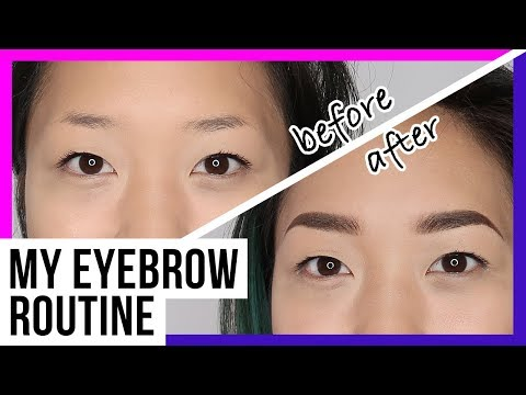 My Eyebrow Routine_Makeup for Sparse Eyebrows