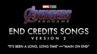 Avengers: Endgame - End Credits Songs (VERSION 2)