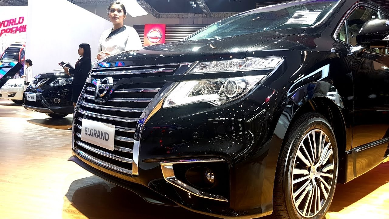 All New Nissan Elgrand In Details Great Luxury Mpv Youtube